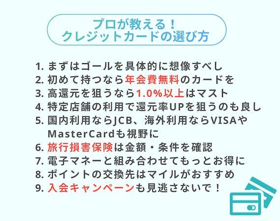 made_クレカ 選び方