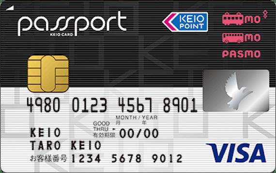 passport_京王パスポートPASMOカード