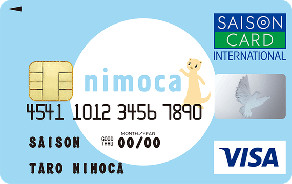nimocaセゾンカード